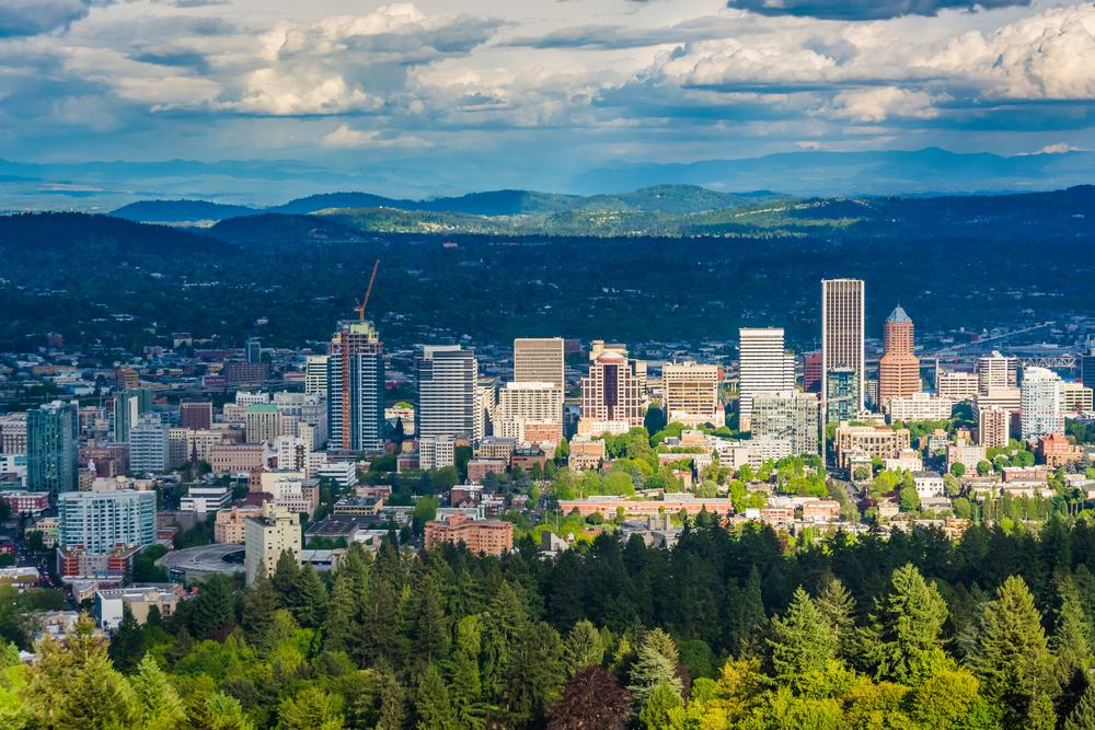 Portland. photo:Jon Bilous/shutterstock
