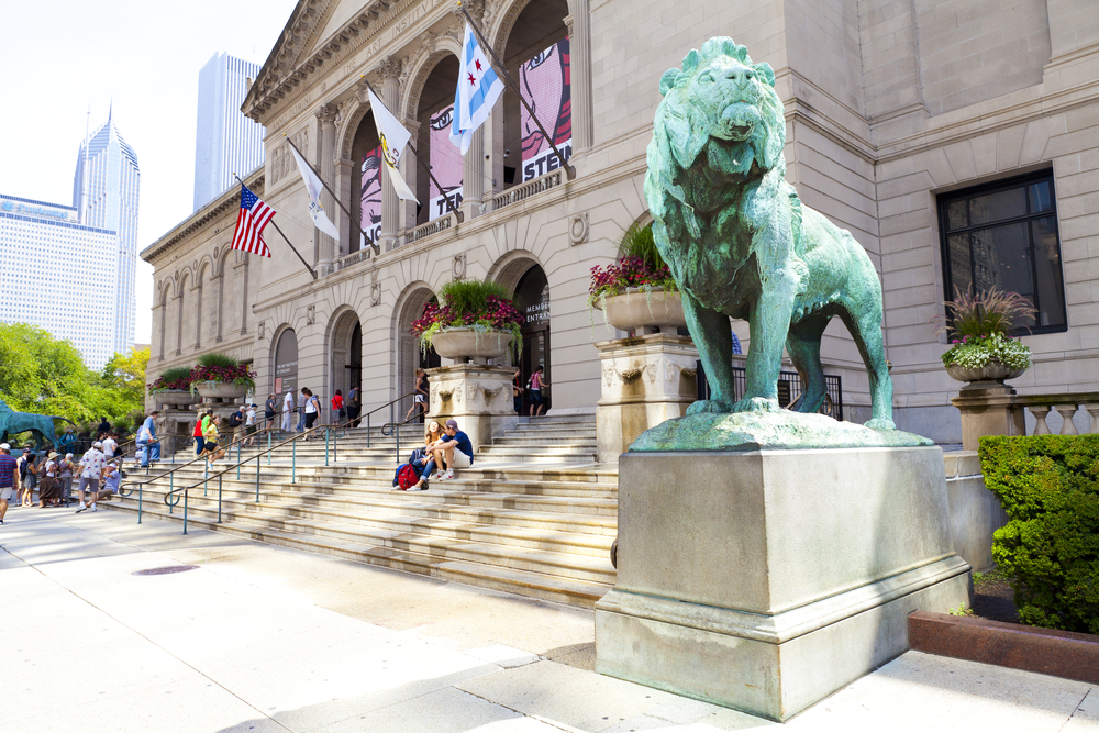 Art Institute of Chicago. photo:  MaxyM/shutterstock
