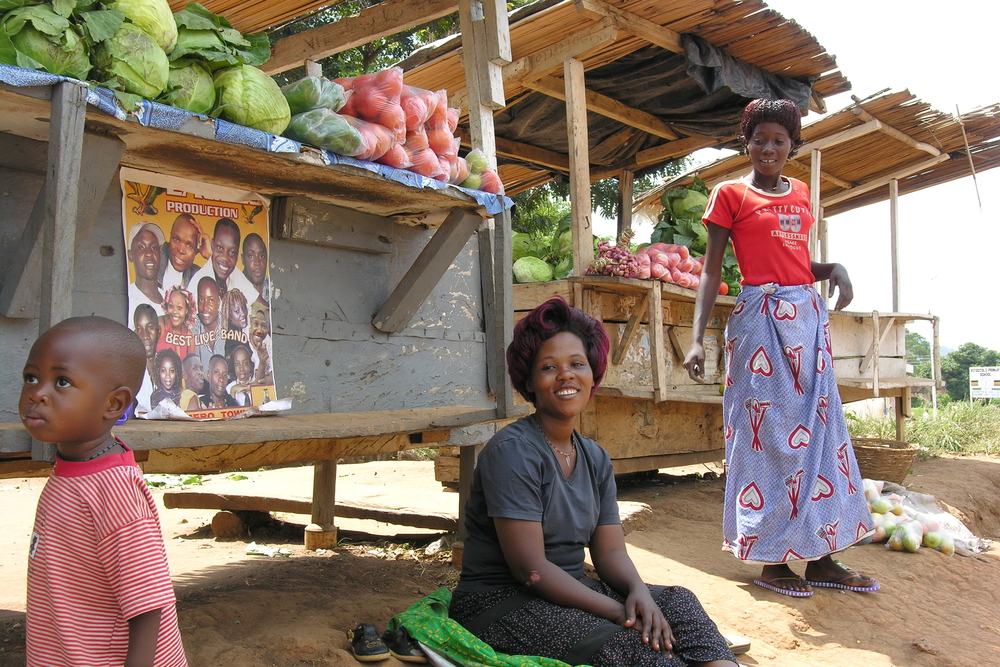 Women merchants in uganda. photo:  Vlad Karavaev/shutterstock