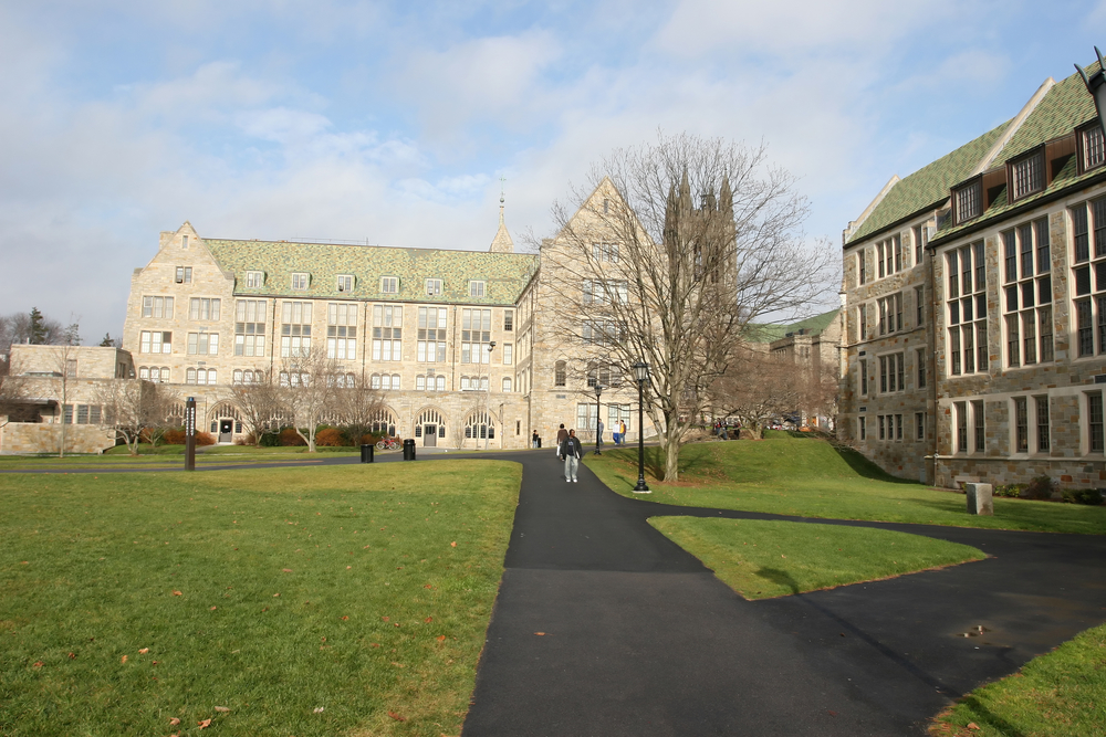 boston college. photo:  Zhong Chen/shutterstock