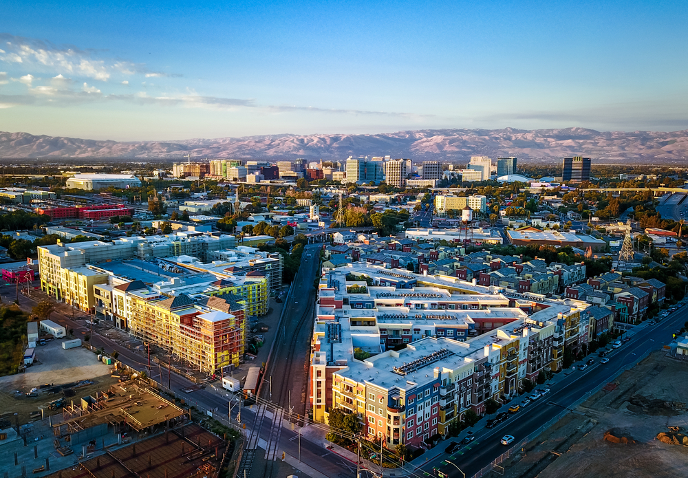 new housing in san jose, CA. photo: Uladzik Kryhin/shutterstock