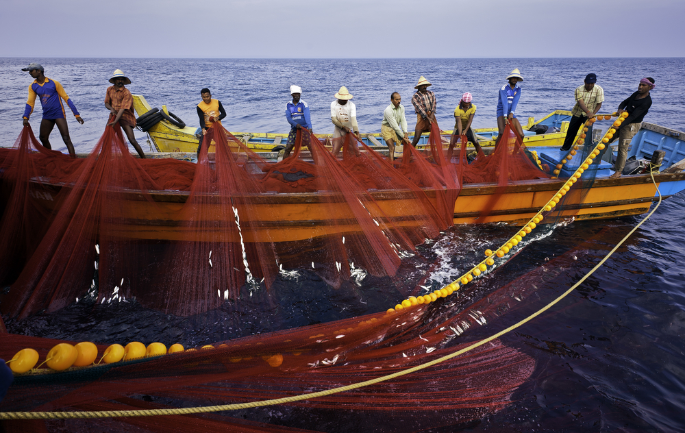 human trafficking is a major problem in Asia's Fishing industry. photo: Daniel J. Rao/shutterstock