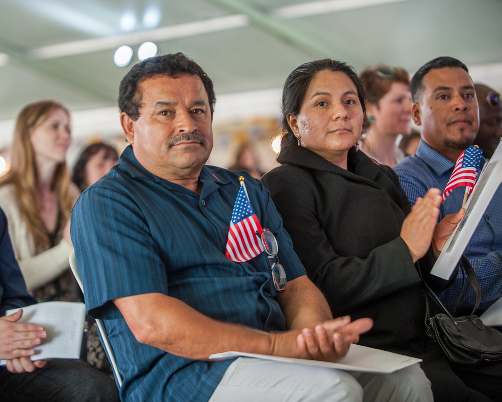 helping immigrants is one focus of the WAkerly family foundation. photo:Diego G Diaz/shutterstock