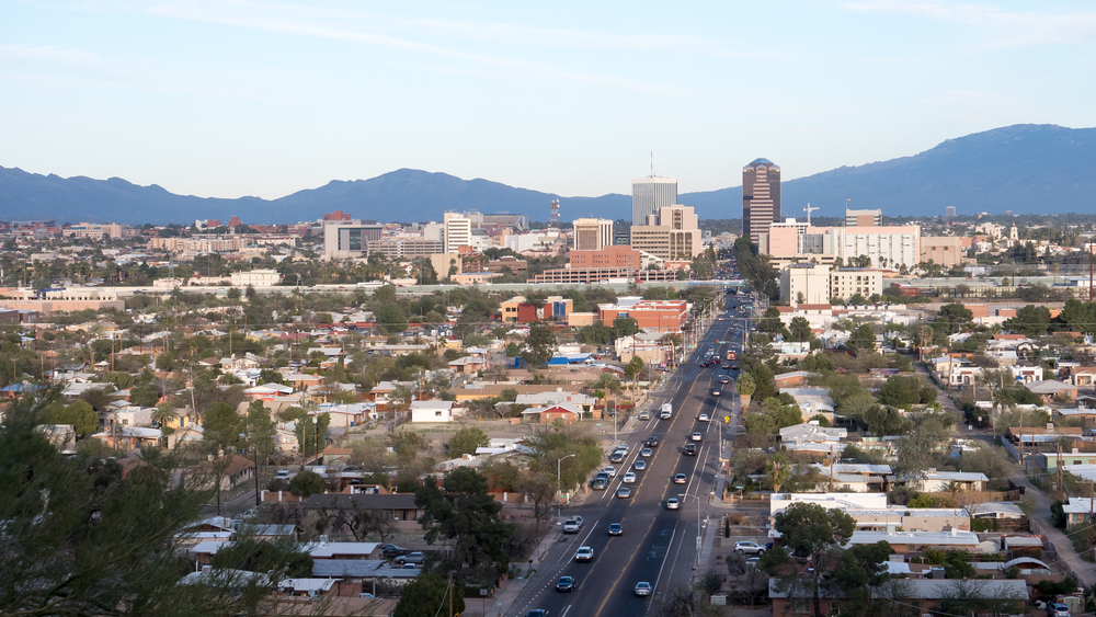 Tuscon, AZ. Photo:  Chris Rubino/shutterstock