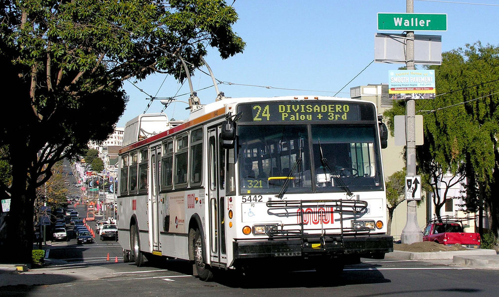One grant went to a story-sharing project using San Francisco's 24 MUNI bus line.