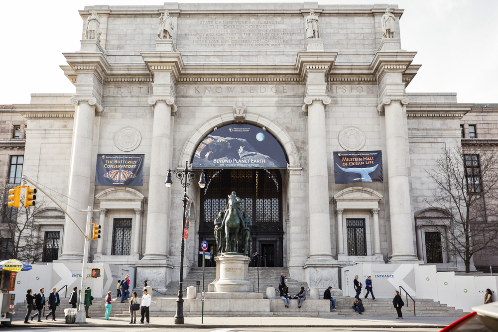 The american Musuem of Natural History. Photo: DW labs Incorporated/shutterstock