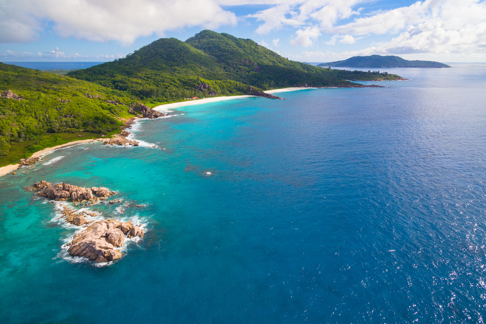 An island in Seychelles. photo: alpinenature/shutterstock