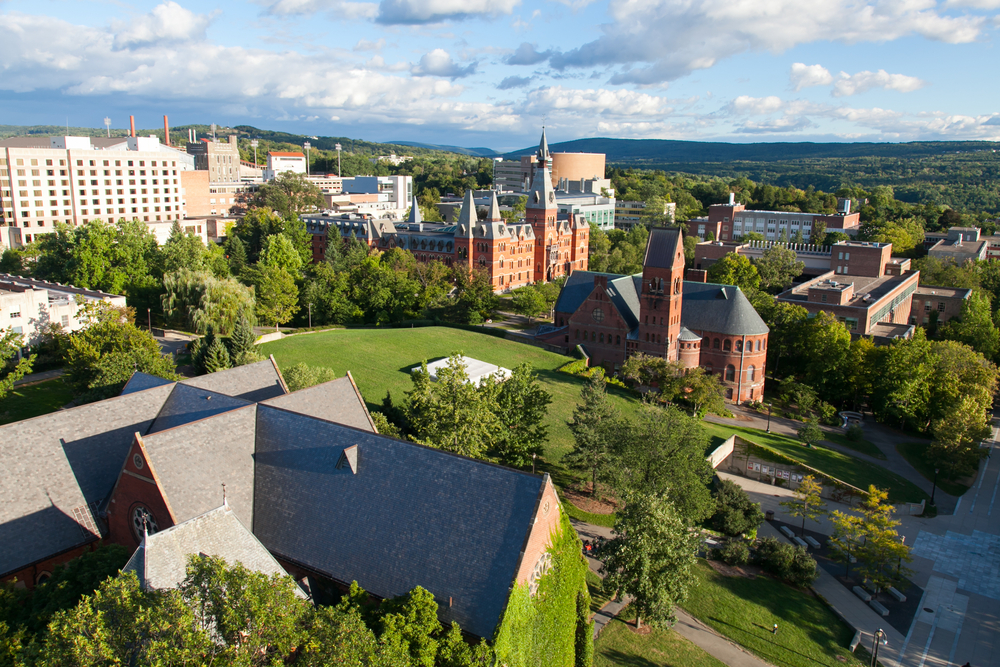 cornell university. photo:  Lewis Liu /shutterstock