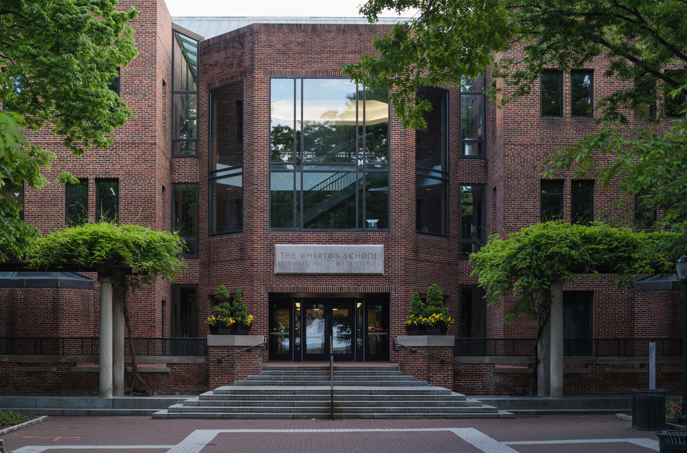 The wharton school. Photo:SINITAR/shutterstock