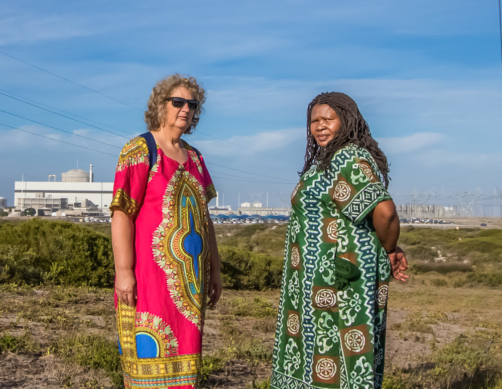 Liz Mcdaid and Makoma Lekalakala, South Africa