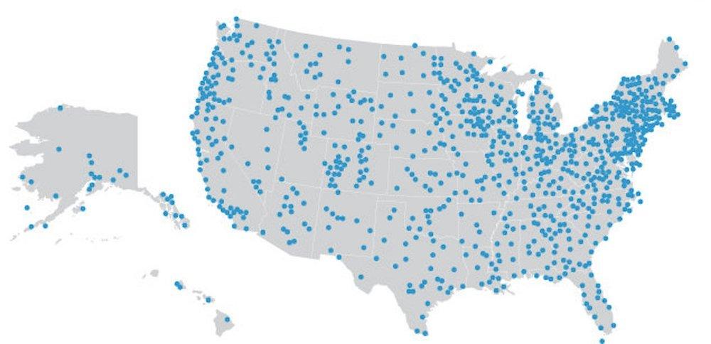 NPR stations. credit: NPR