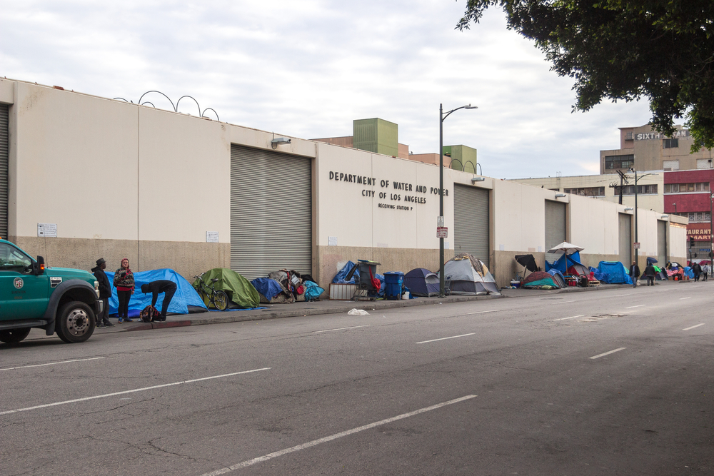 Skid row, downtown Los angeles. photo: Andrew V Marcus/shutterstock
