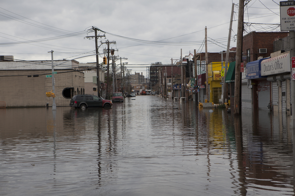 Far Rockaway, NY, after Hurricane Sandy. Photo: MISHELLA/shutterstock