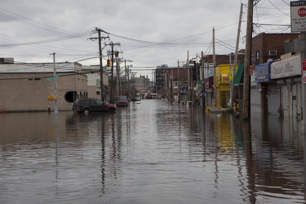 Far Rockaway, NY, after Hurricane Sandy. Photo:MISHELLA/shutterstock