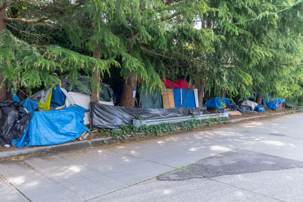 Homelessness is one issue the Opus Community Foundation cares about. photo:Phil Lowe/shutterstock