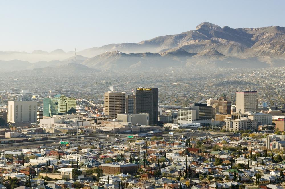Downtown El Paso, TX. photo:Joseph Sohm/shutterstock