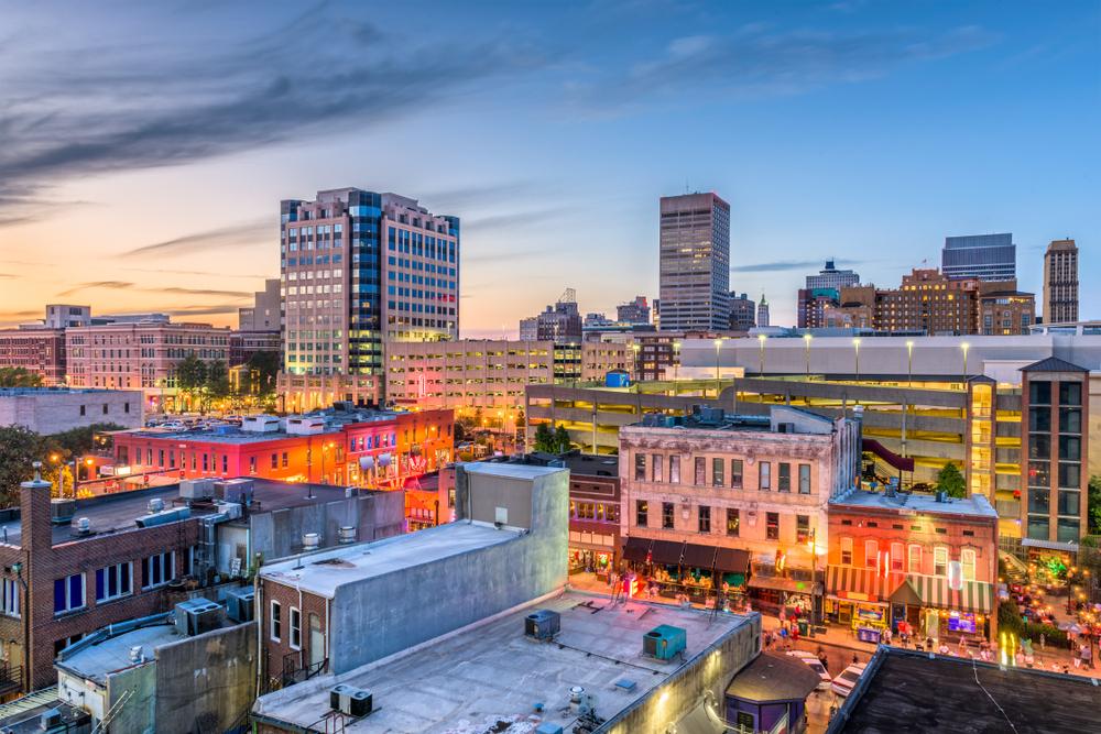 Downtown Memphis, Tennessee. Photo:Sean Pavone/shutterstock