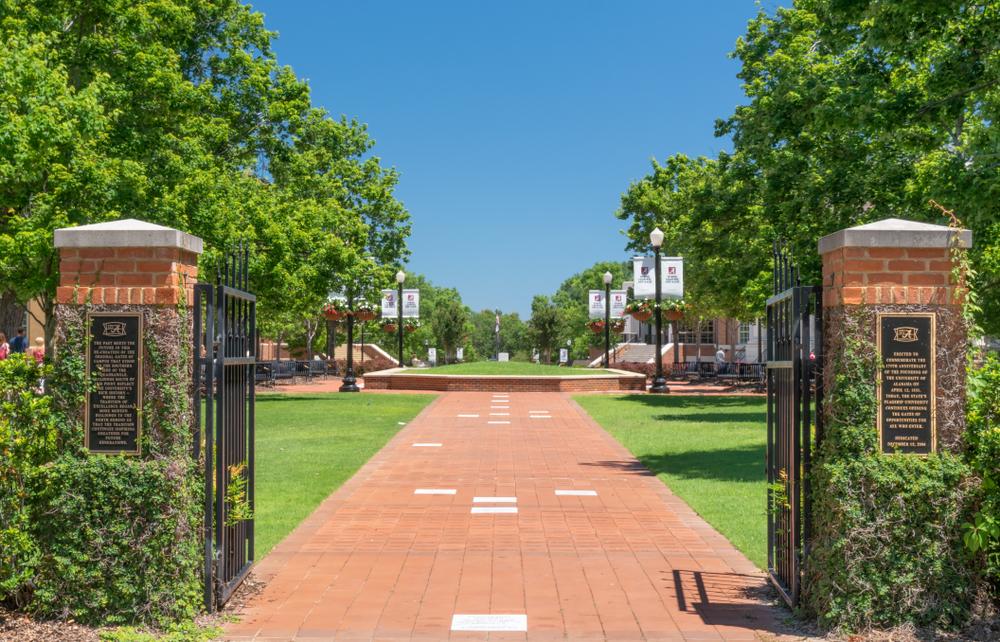 The University of Alabama.Ken Wolter/shutterstock