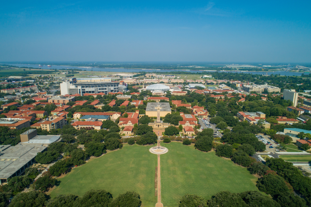 louisiana state university. photo: Felix Mizioznikov/shutterstock