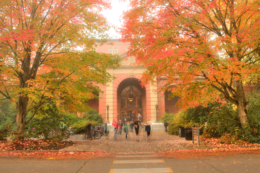 Oregon state university. photo: Bob Pool/shutterstock
