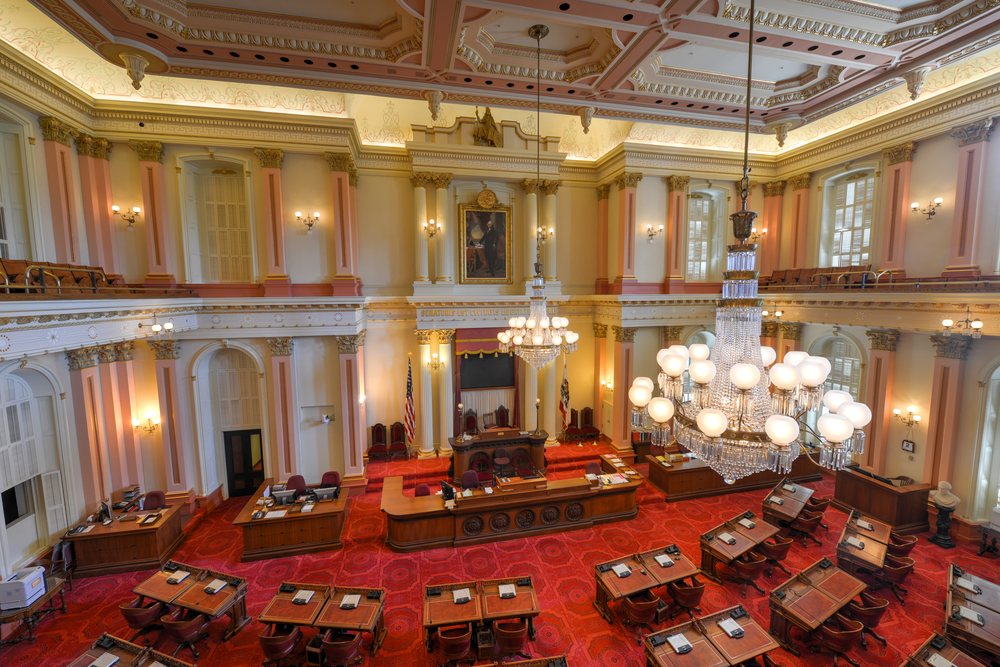The California State Senate. photo: Felix Lipov/shutterstock