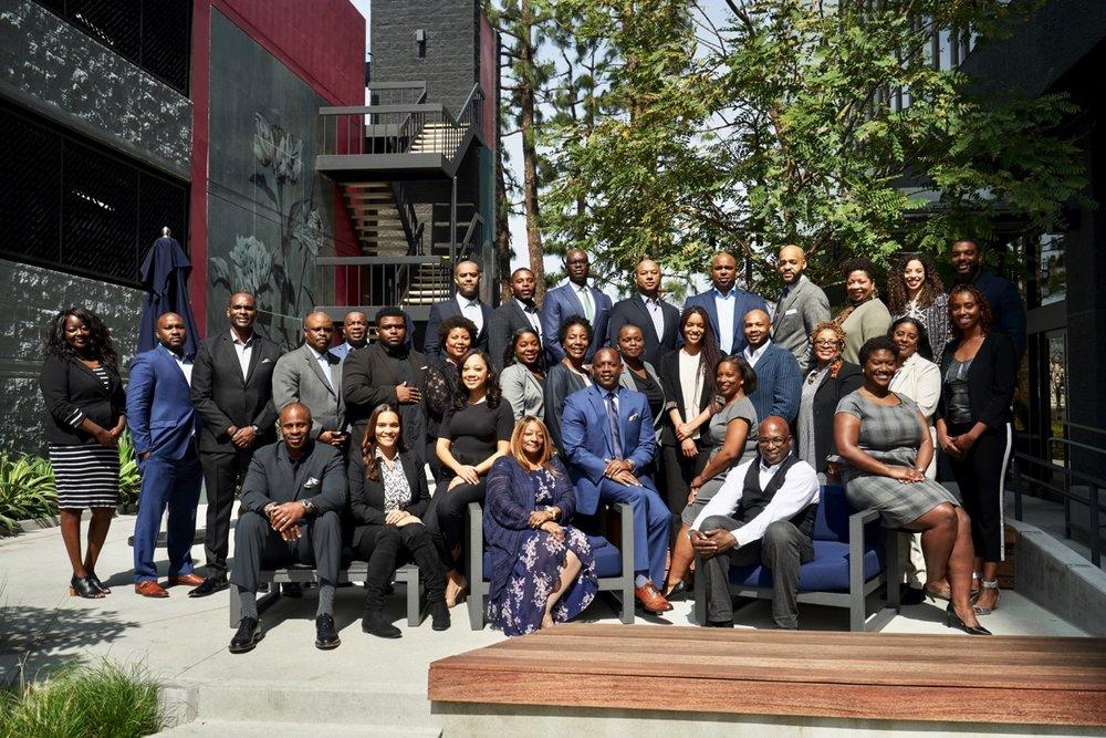 A recent board leadership cohort at AABLI