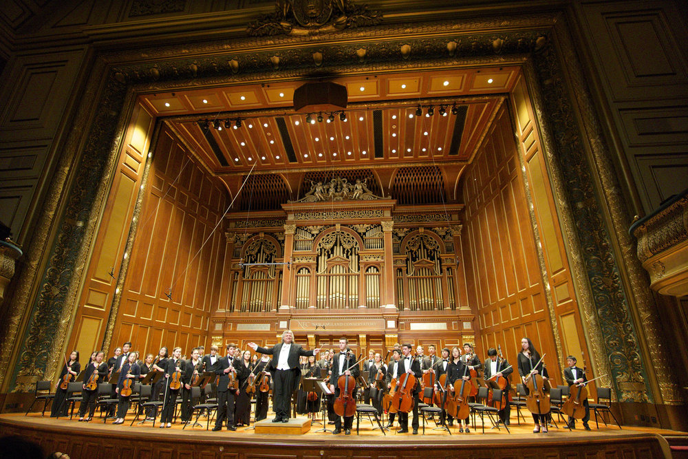The new england conservatory has been among the top recipients of TBF grants in the past decade.