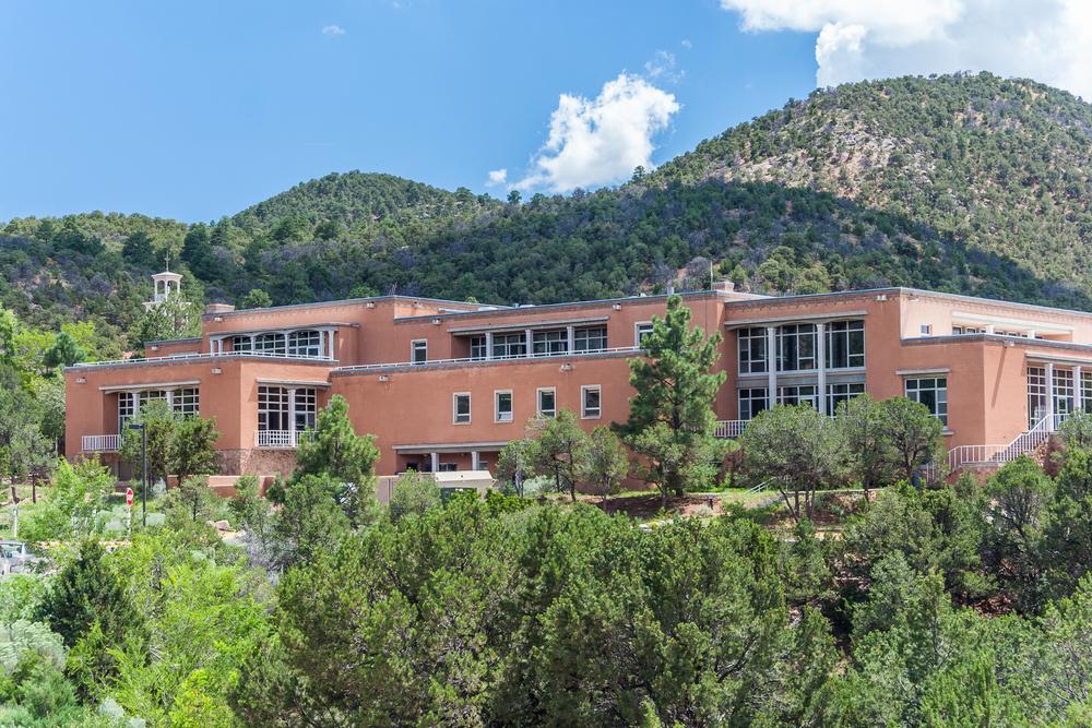 St. John's College in Santa Fe. Photo: amadeustx/shutterstock