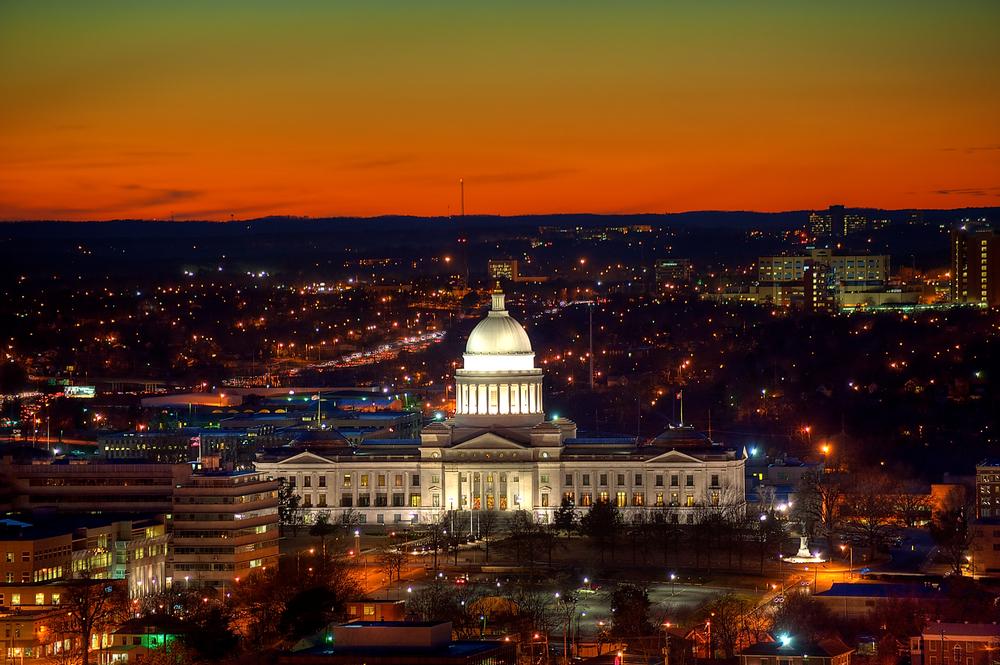 Little Rock, Arkansas. photo: mnapoli/shutterstock