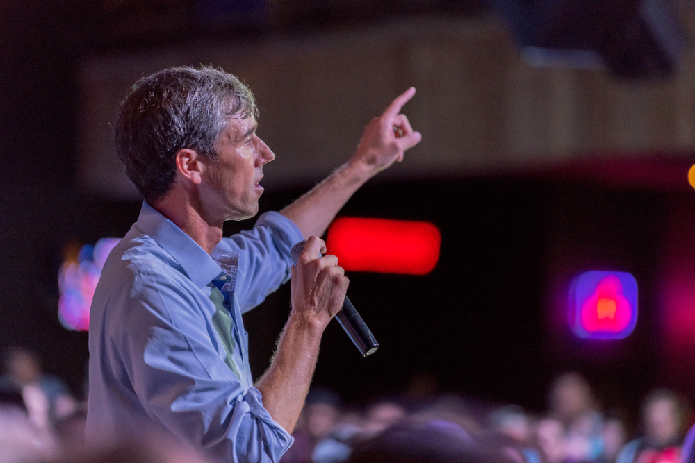 Beto O'Rourke. Photo: michelmond/shutterstock