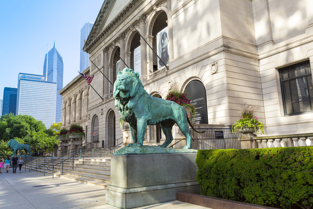 The art institute of Chicago. Photo: MaxyM/shutterstock