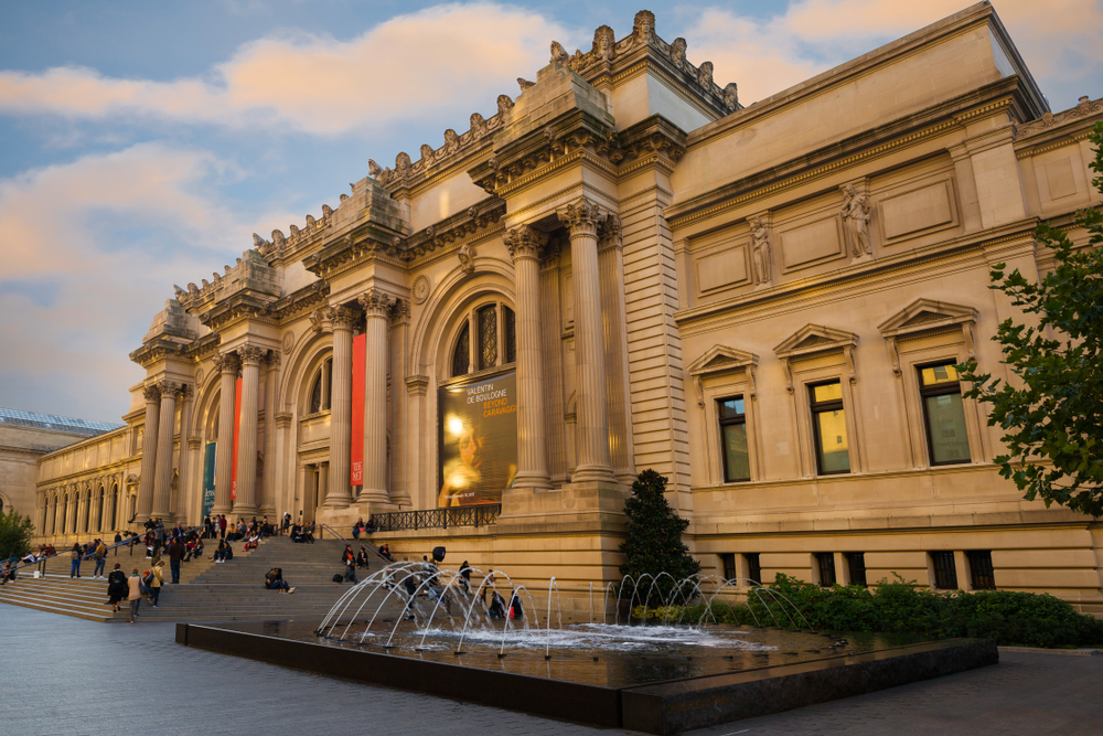 The met has been among the foundation's beneficiaries. photo: Maurizio De Mattei/shutterstock