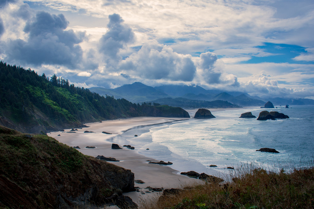Oregon's Pacific coast.