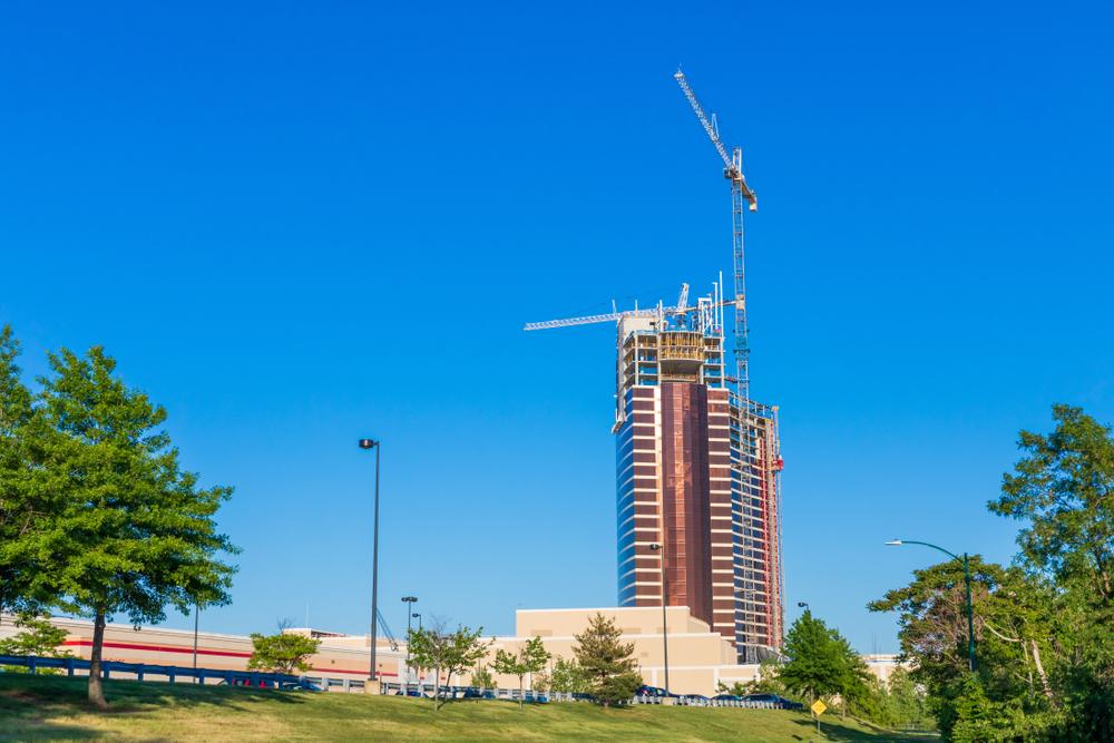 Encore Resort casino under construction. Alexander Rodas/shutterstock