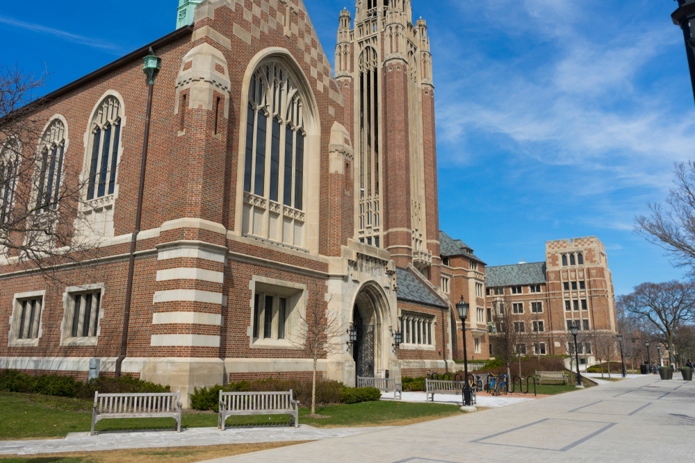 Griffin's latest big give was a $125 million donation to the economics department at the University of Chicago. ben bryant/shutterstock