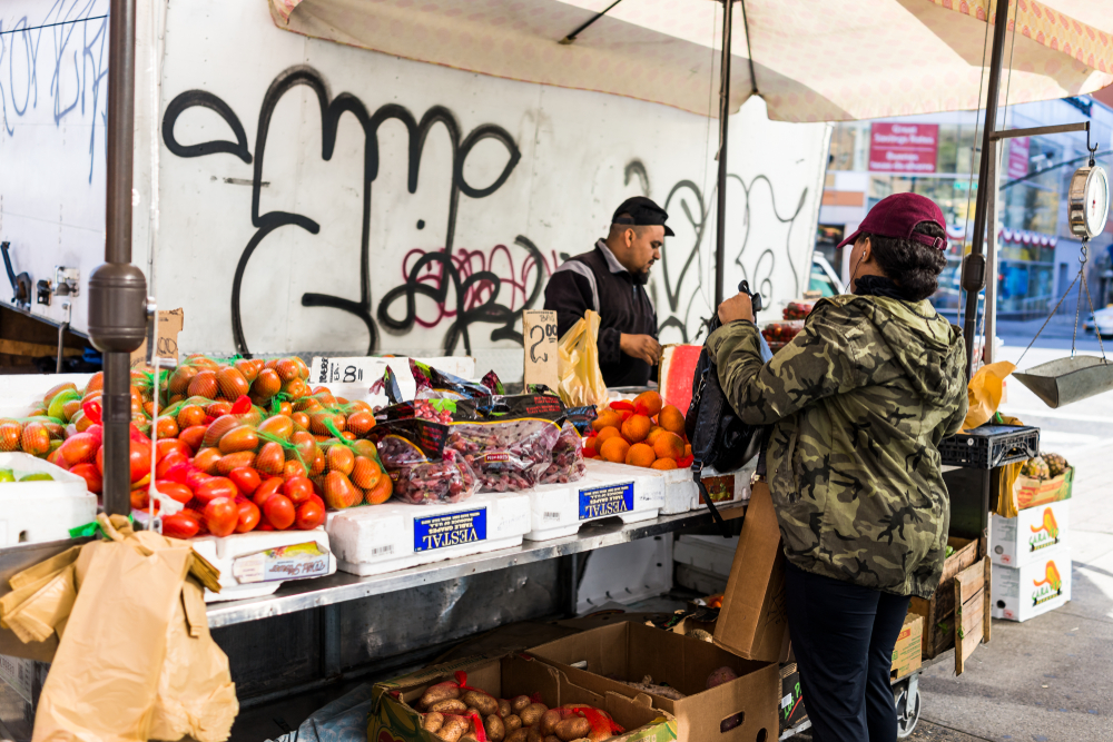 Fresh fruit for sale in the Bronx, NY. Kristi Blokhin/shutterstock