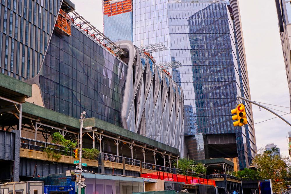 The under construction last fall. Warren Eisenberg/shutterstock