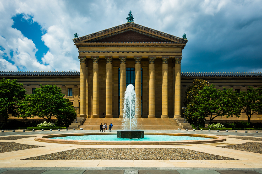 the Philadelphia Museum of Art is among the local institutions receiving Angelakis Family Foundation support. Photo: ESB Professional/shutterstock