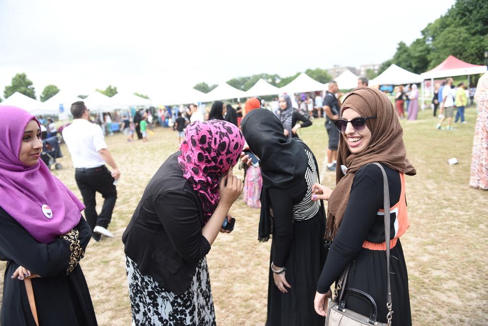 An Arab American festival in Brooklyn. a katz/shutterstock