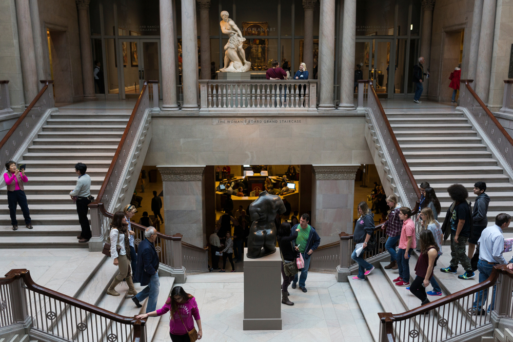 The Frankes are long-time supporters of the art institute of Chicago, as well as other cultural institutions in the city. Photo: Matias Honkamaa/shutterstock