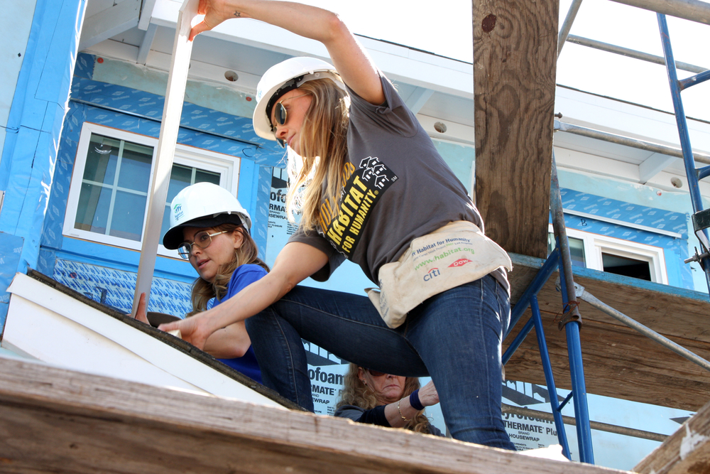 Habitat for Humanity is among the nonprofits that have received Borch support. Kathy Hutchins/shutterstock