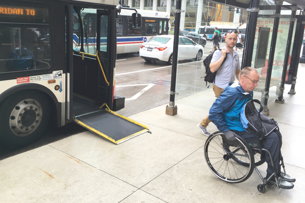 People with disabilities is one focus on this Chicago funder. Alex Kachkov/shutterstock