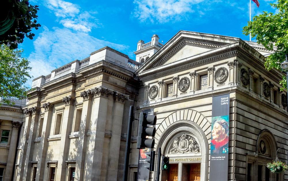 The National portrait gallery in london. Flik47/shutterstock