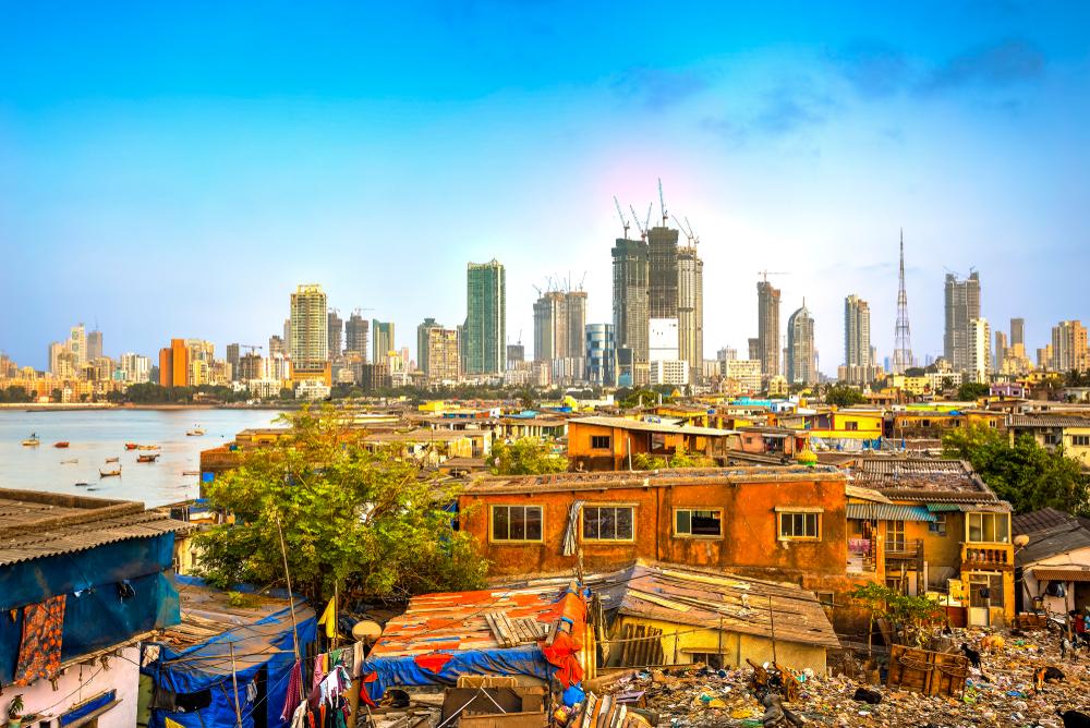 The mumbai skyline. Catalin Lazar/shutterstock