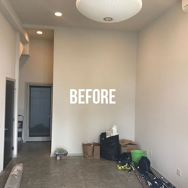 Install day for this space!