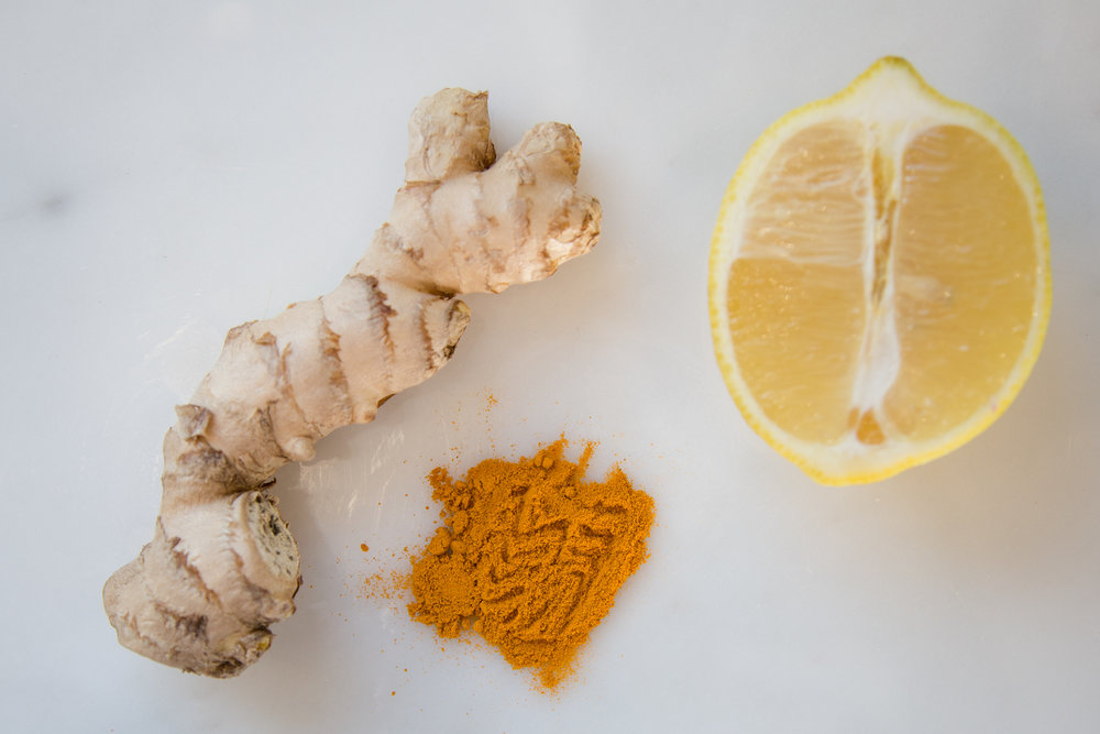 Turmeric and lemon, both great immunity boosters