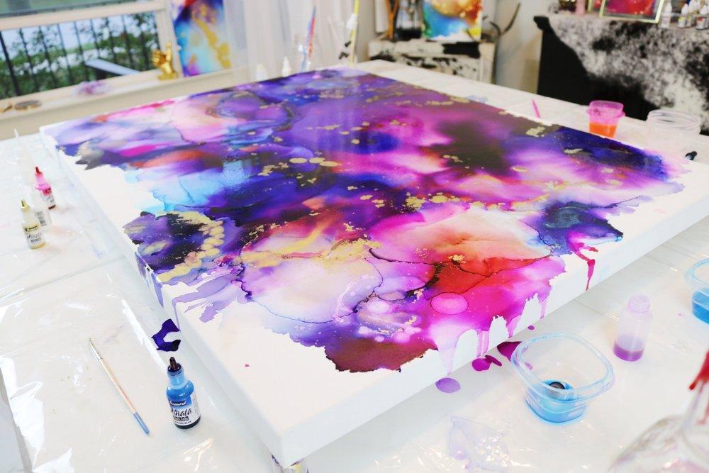 Big Magic abstract painting