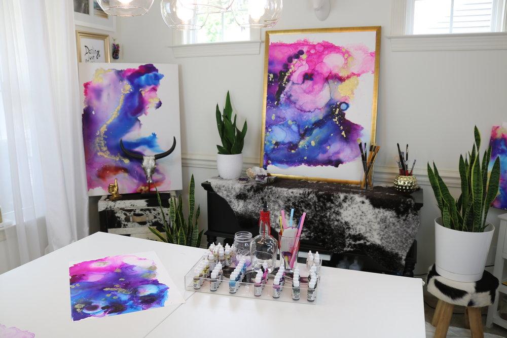 Jenna_Webb_Art_Studio_Marriott_Abstract_Paintings_Commissioned.JPG