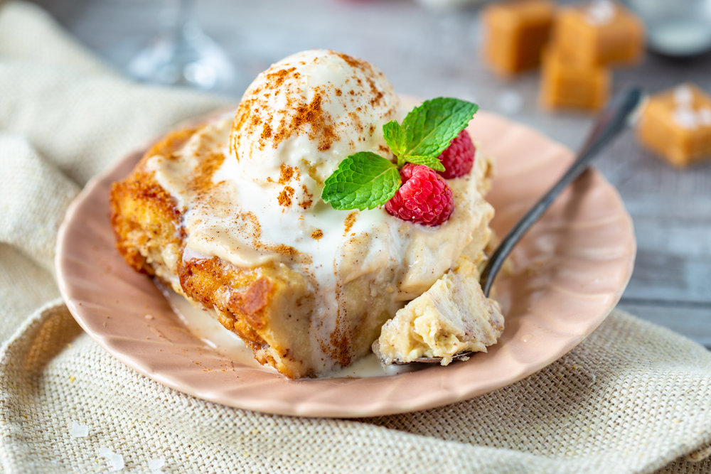 BUTTERSCOTCH BUDINO BREAD PUDDING - VIEW RECIPE
