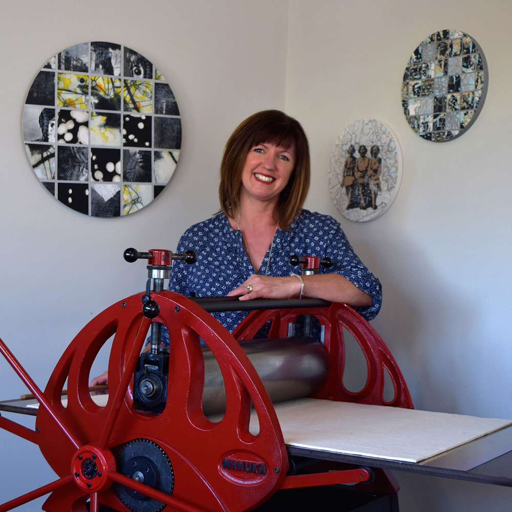 Lisa Feyen artist and printmaker